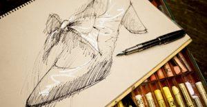 shoes sketch-image